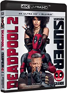 Deadpool 2 (Versión Super $@%!#  Grande) 4k Uhd [Blu-ray]