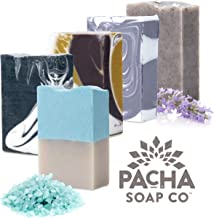 Handmade Natural Bar Soap Set - Beautiful, Handcrafted Soap, Created from Organic and Sustainable Ingredients