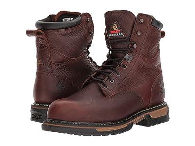 Rocky 8 Ironclad Steel Toe WP (Brown) Men