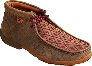 Women's Mahogany Diamond Driving Mocs Moc Toe