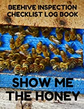 Beehive Inspection Checklist Log Book: Helpful Beekeeper Record Book to Track Beehive Health, Appearance and Conditions; Blue Wood Cover