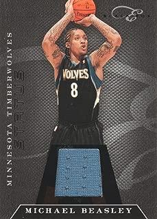 2010-11 Panini Elite Black Box Jersey #60 Michael Beasley /99 Timberwolves