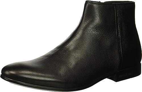 Kenneth Cole New York York Hommes's Mix Zip démarrage Ankle, noir Tumbled Leather, 10 M US  gros pas cher et de haute qualité