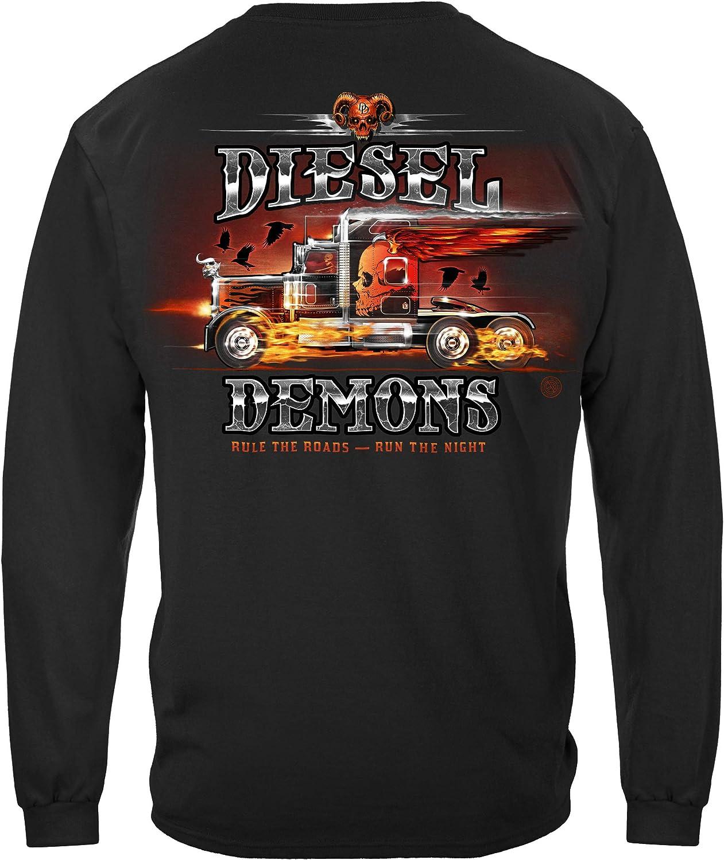 Worker Trucker CTTB Diesel Indefinitely National products Demon T-Shirt RN2468