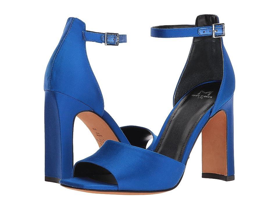 Marc Fisher LTD Harlin 2 (Medium Blue Satin) Women