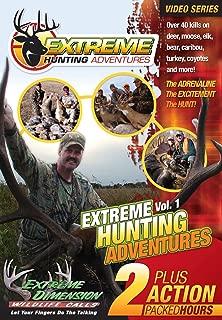Extreme Dimension Wildlife Calls - Hunting Adventures -  DVD - EDEHA910 - see over 40 hunts on deer, elk, moose, bear, caribou, turkey