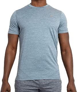 Alive Men's Tee Shirt Quick Dry Active Performance Short Sleeve Shirt