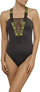 Calvin Klein Women's Intense Power Classic One-Piece Swimsuit