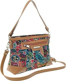 A89.Disney Mickey Mouse Women Vintage Tote Shoulder Cross Body Bag Handbag