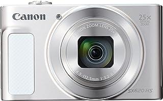 Canon コンパクトデジタルカメラ Power Shot SX620HS ホワイト 光学25倍ズーム PSSX620HS(WH)