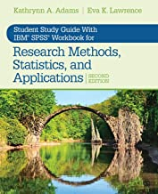 Student Study Guide With IBM® SPSS® Workbook for Research Methods, Statistics, and Applications 2e (NULL)