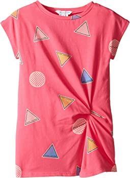 Little Marc Jacobs - All Over Printed Dress with Knotted Detail (Toddler)