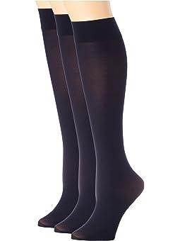 2 pr Bubble Knit Knee Socks Sz HUE Knee Boot Socks 9-11 Gray Thick and Warm