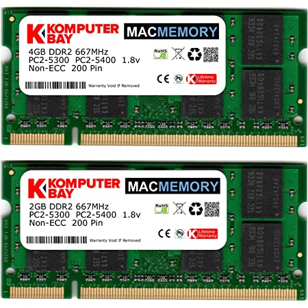 PC2-5300 2GB DDR2-667 RAM Memory Upgrade for The Fujitsu LIFEBOOK Tablet PC T4220 A1A2J1E415A30000