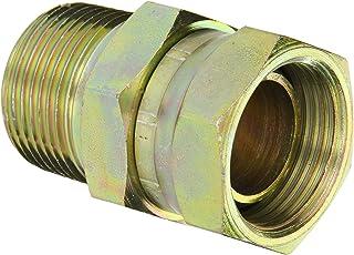 1//2 Straight Thread O-Ring Boss x 3//8 JIC Male 1//2 Straight Thread O-Ring Boss x 3//8 JIC Male Flare-Twin Fitting JIC Eaton Weatherhead C5515X6X8 Carbon Steel SAE 37-Degree 90-Degree Elbow