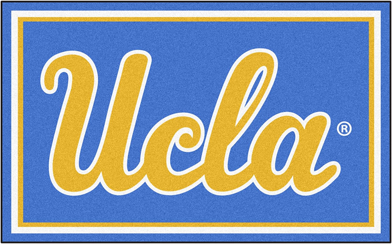 NCAA University California  Los Angeles (UCLA) Bruins 4 x 6 Foot Plush NonSkid Area Rug