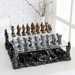 Renaissance Knight Chess Recreational Classic Strategy Game Set