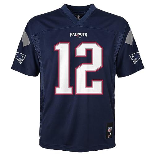 44574a8e NFL Youth Boys 8-20 Tom Brady New England Patriots Boys -Player Name Jersey