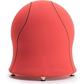 エクサボム バランスボールチェア EXABOMB EXA-BOMB(レッド) エクササイズチェア ストレッチチェア おうち時間 自宅でながらエクササイズ