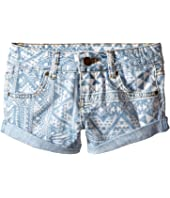 Billabong Kids - Coolside Denim Shorts (Little Kids/Big Kids)
