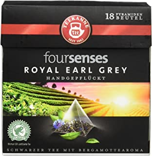 Fairtrade Teekanne - Fairtrade Teekanne foursenses Royal Earl Grey, Schwarzer Tee