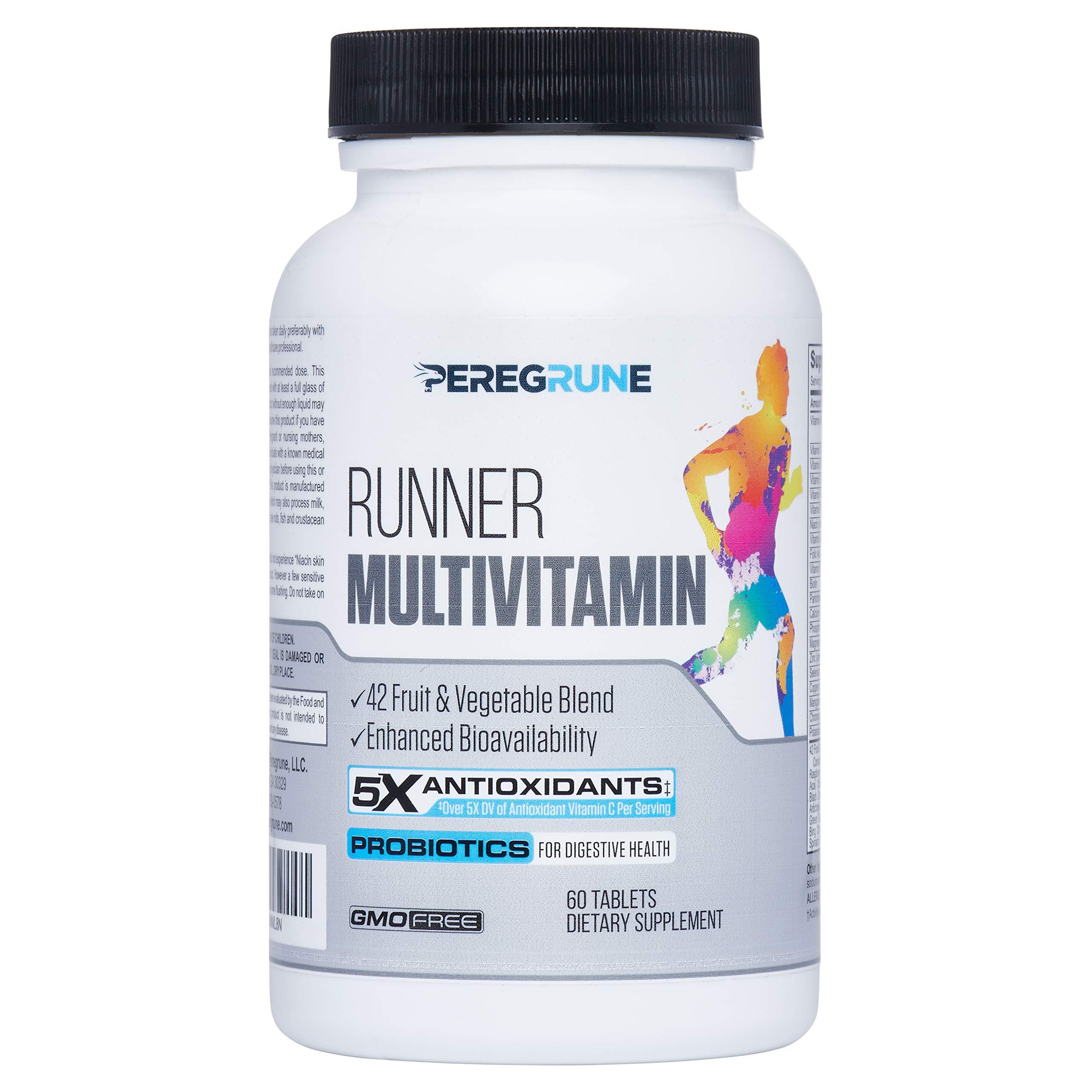 Runner Multivitamin Engineered Antioxidants Certified