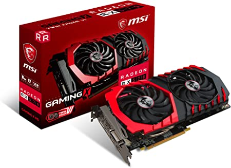 Amazon.com: MSI Gaming Radeon RX 570 256-bit 8GB GDRR5 DirectX 12 VR Ready  CFX Graphcis Card (RX 570 GAMING X 8G) : Electrónica