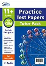 11+ Mock Test Papers Tutor Pack for CEM Inc Audio Download (Letts 11+ Success)