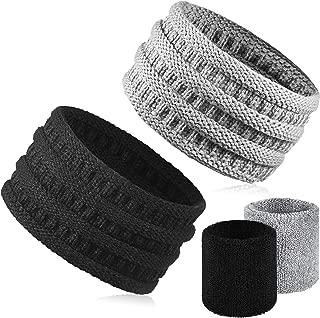 WILLBOND 3 St/ücke Winter Warme Satz Katze Ohr M/ütze Hut Nackenw/ärmer Schal Touchscreen Handschuhe