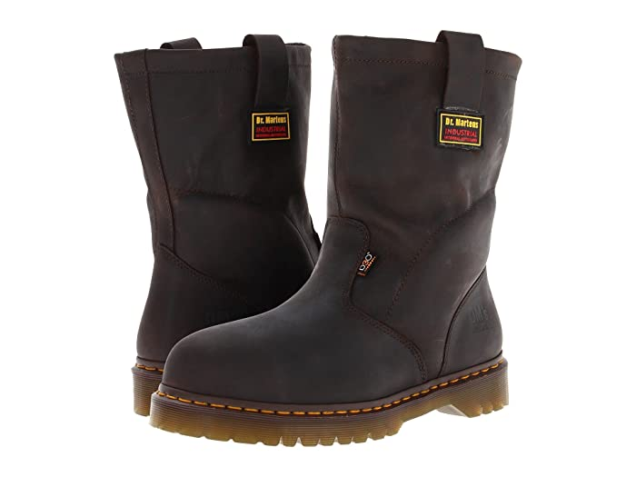 Dr. Martens Work  2295 ST IM Wellington (Gaucho Volcano) Mens Work Pull-on Boots