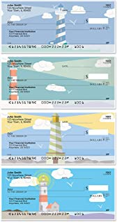 Splendid Lighthouse Top Tear Value Priced Personal Checks (1 Box of Duplicates, Qty. 100)