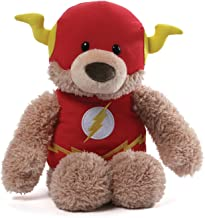 GUND DC Comics Flash Blaze Teddy Bear Stuffed Animal Plush, Red, 12