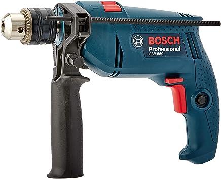 Furadeira de Impacto GSB 550 RE 127V, Bosch 06011A02D0-000, Azul