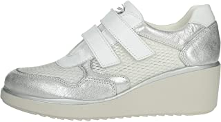 Cinzia Soft Scarpe Donna Sneaker IV10662-GTL 001 Bianco/Argento