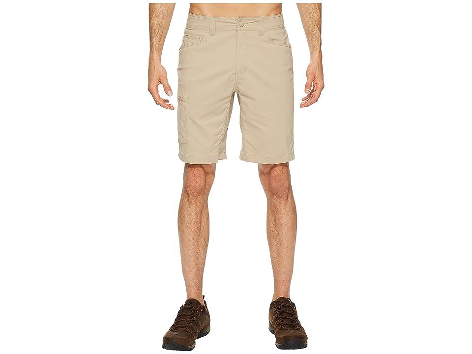 Royal Robbins Active Traveler Stretch Shorts (Khaki) Men