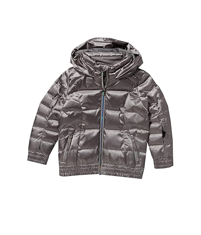 Bitsy Atlas Synthetic Down Jacket (Toddler/Little Kids) (Silver) Girl's Clothing