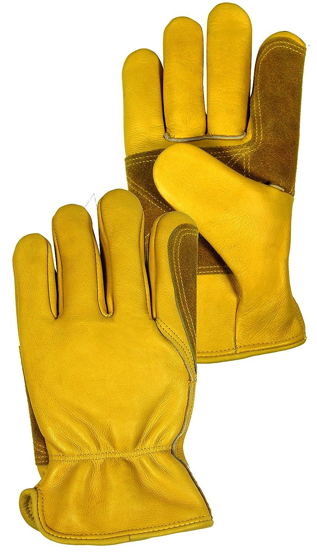 新着セール Magid Glove Safety 出荷 TB570ETL Fencing Pac Large Yellow Gloves