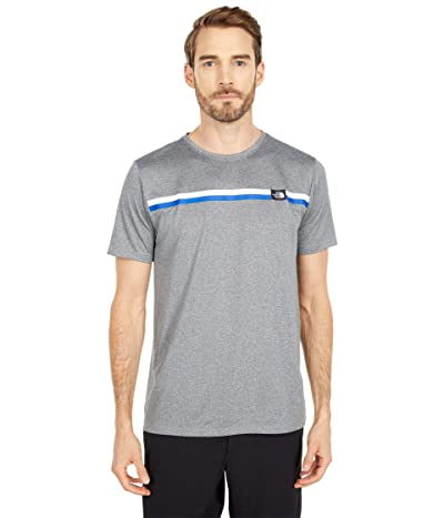 The North Face Americana Reaxion Short Sleeve Graphic Tee (TNF Medium Grey Heather) Men