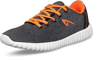 Aqualite Men MESH Grey Orange Running Shoes