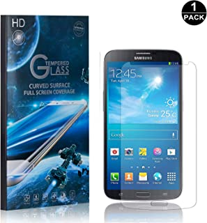 Galaxy S4 Screen Protector Tempered Glass, Bear Village® Perfect Fit & Anti Fingerprint HD Screen Protector Film for Samsung Galaxy S4-1 Pack