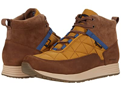 Teva Ember Commute Waterproof (Bison/Medallion) Men