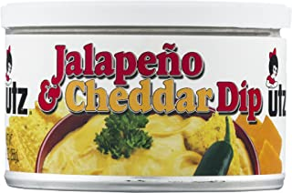 Utz Jalapeno & Cheddar Dip 9 oz. Can (2 Cans)