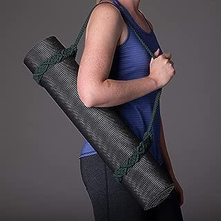 Kindfolk Yoga Mat Carry Strap Macrame Sling