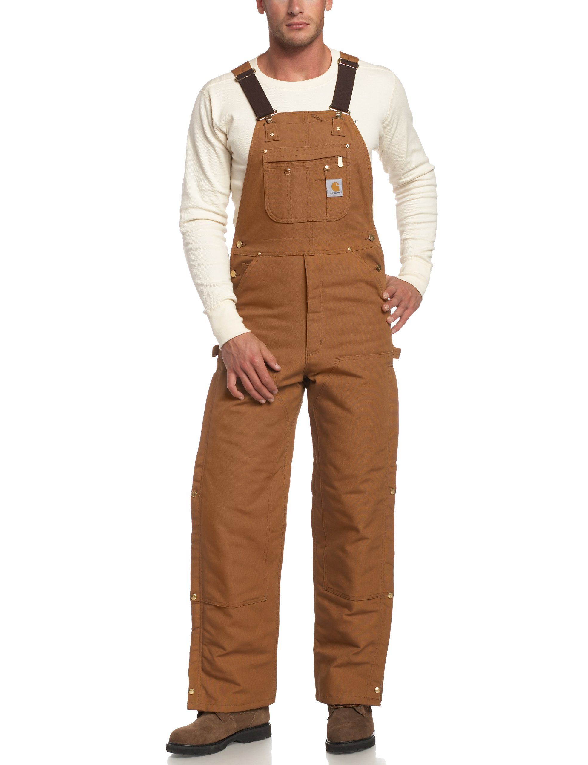 Carhartt Quilt Lined Thigh Overalls