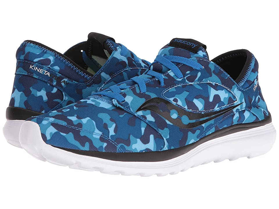 Saucony Kineta Relay (Blue/Camo) Men