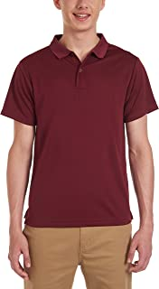 Uniform Young Men's Short Sleeve Performance Polo Shirt
