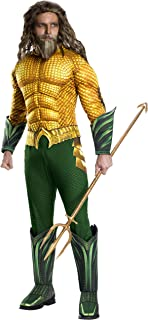 Rubie's Men's Standard Movie Adult Aquaman Deluxe Costume, As Shown