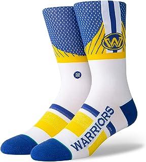 Warriors Shortcut Calcetines, Hombre, Azul