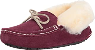 Staheekum Women's Plush Shearling Lined Slipper