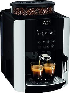 Krups Arabica cyfrowy, ziarno do kubka, ekspres do kawy, srebrny, automatyczny